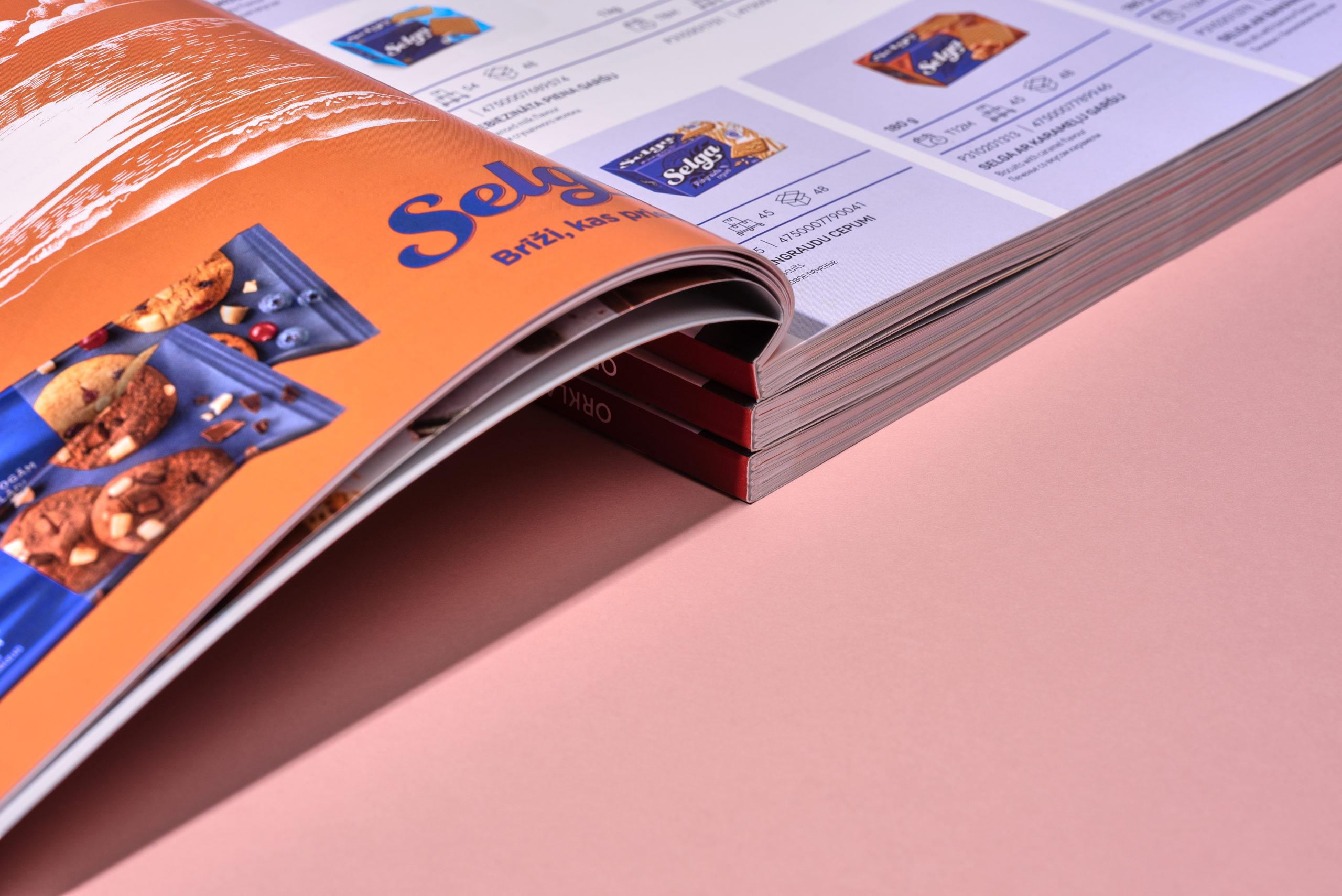 Produkcijas katalogs. Pasūtītājs – Orkla Latvija